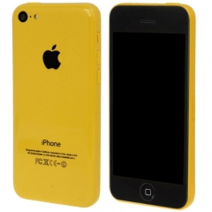 Dark Screen Non-Working Fake Dummy, Display Model for iPhone 5C(Yellow)