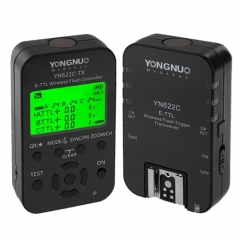 YONGNUO YN622C-KIT E-TTL Wireless Flash Trigger Controller + Transceiver Kit for Canon Camera