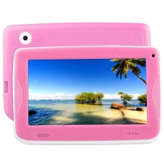 Astar Kids Education Tablet, 7.0 inch, 512MB+4GB, Android 4.4 Allwinner A33 Quad Core, with Silicone Case(Pink)