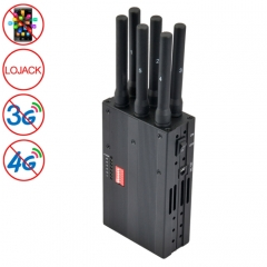 GSM / CDMA / DCS / PCS / 3G / 4G / LOJACK Mobile Phone Signal  Breaker / Jammer / Isolator, Coverage: 20meters (JAX-121A-6A)