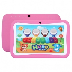 M755 Kids Education Tablet PC, 7.0 inch, 512MB+8GB, Android 5.1 RK3126 Quad Core up to 1.3GHz, 360 Degree Menu Rotation, WiFi(Magenta)