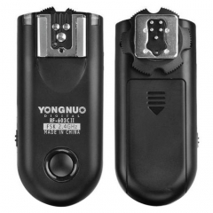 2 PCS YONGNUO RF603C II FSK 2.4GHz Wireless Flash Trigger with C1 Shutter Connecting Cable