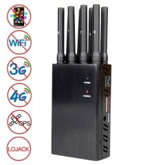 JAX-121A-8 GSM / DCS / WiFi / 3G / 4G / GPS / LOJACK Mobile Phone Signal Isolator, Coverage: 20 meters