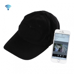 C-wifi V1.1 High Resolution IP-CAM Hat WiFi Camera, Support TF Card(Black)