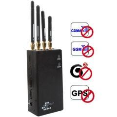 808HF2 Black, Portable GSM/CDMA/DCS/PHS/3G/GPS Cell Phone Signal protector (Coverage: 5~20m)