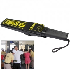 Portable Hand-Held Security Metal Detector (GP 3003B1)(Black)