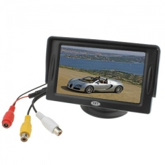 4.3 inch TFT LCD Car Rearview Monitor with Stand and Sun Shade
