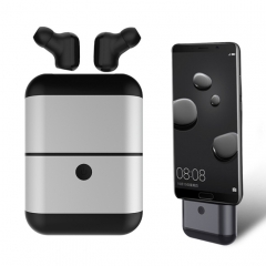 X2 Mini Invisible Bluetooth Wireless Separated Ears Headset with Charging Function Storage Box