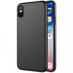 NILLKIN for iPhone X Anti-slip Texture PP Protective Back Cover Case