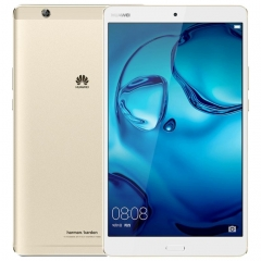 Huawei MediaPad M3 BTV-W09, 8.4 inch, 4GB+128GB, Official Global ROM, Fingerprint Identification & Navigation, 2K Dazzling Screen, EMUI 4.1 (Based on Android 6.0), Kirin 950 Octa Core up to 2.3GHz, GP