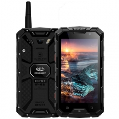 Conquest S8, 3GB+32GB, Walkie Talkie Function, 6000mAh Battery, IP68 Waterproof Dustproof Shockproof Anti-pressure Explosion-proof, Fingerprint Identification, 5.0 inch, Android 7.0 MTK6753 Octa Core