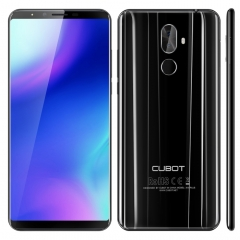 [HK Stock] CUBOT X18 Plus, 4GB+64GB, Dual Back Cameras, Fingerprint Identification, 4000mAh Battery, 5.99 inch Android 8.0 MTK6750T Octa-Core up to 1.5GHz, Network: 4G, Dual SIM(Black)