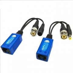 2 PCS Anpwoo 500PV Spliceable 2 in 1 Power + Video Balun HD-CVI/AHD/TVI Passive Twisted Transceiver