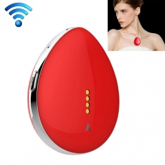D19 Necklace Style Mini Realtime GPS Tracker, LBS + WiFi + GPS, SOS, Voice Monitor, Two Way Audio (Red)
