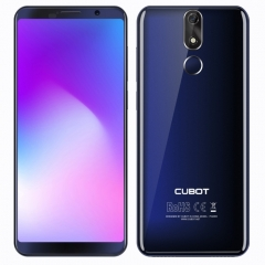 [HK Stock] CUBOT Power, 6GB+128GB, Fingerprint Identification, 6000mAh Battery, 5.99 inch Android 8.1 MTK6763T (Helio P23) Octa Core up to 2.5GHz, Network: Dual 4G, Dual SIM(Blue)