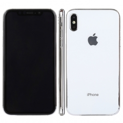 Dark Screen Non-Working Fake Dummy Display Model for iPhone XS Plus(White)