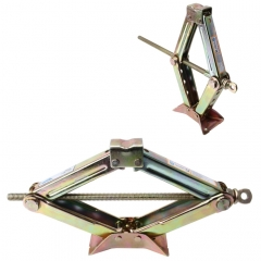 ST-104 Pure Metal Stabilizer Scissor Jack with Handle Lift Levelers 3000 Pound (1.5 Ton) Capacity Each - 8.5 to 36 CM Range