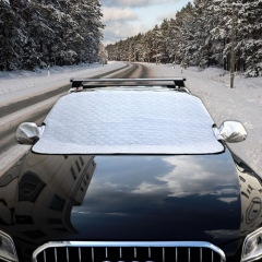 Car Auto Magnetic Aluminum Film Sunshine Frost Snow Protect Windshield Cover