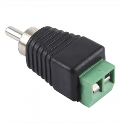 DC Power to RCA Male Adapter Connector