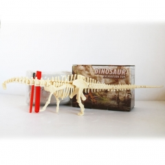Assembled Diplodocus Skeleton Archaeological Excavation Toys Simulation Fossil Model Manual Toys