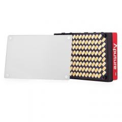 Aputure Amaran AL-MX Portable High CRI 95+ Studio Video Light LED Photo Light Adjustable Light (Red)