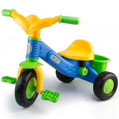 Tricycle Bicycle  Bike With Bucket (Colour: Blue tricycle)