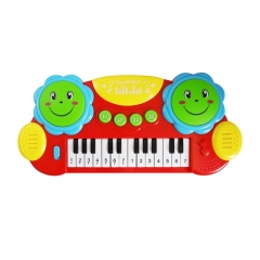 Pat Drum Combo Toy Piano Piano Early Childhood Educational Toys For Children (Colour: Red)