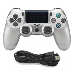Wired Game Controller for Sony PS4(Silver)