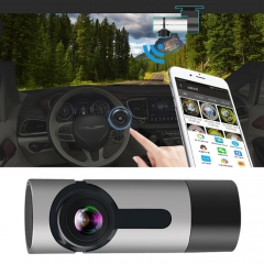 G6 170 Degrees Wide Angle Full HD 1080P Video Car DVR, Support TF Card / WIFI / Loop Recording, with Starlight Night Vision Function(Silver)