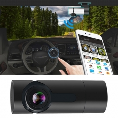 G6 170 Degrees Wide Angle Full HD 1080P Video Car DVR, Support TF Card / WIFI / Loop Recording, with Starlight Night Vision Function(Black)