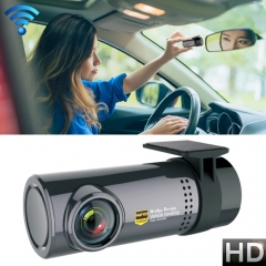 Mini Car Dash Camera WiFi Monitor Full HD Dashcam Video Recorder Camcorder Motion Detection, Support TF Card & Android & IOS