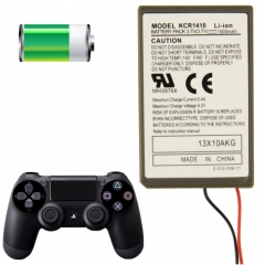 Wireless 1000mAh Lithium Controller Battery for PlayStation 4 Wireless Controllers, Model: KCR1410