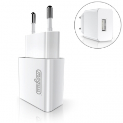 JOYROOM MUGOO MGL-001 2.1A Single USB Travel Charger, EU Plug, for iPhone X / iPhone 8 & 8 Plus / iPhone 7 & 7 Plus / 6& 6 Plus / 6S & 6S Plus and other iPhone & iPad