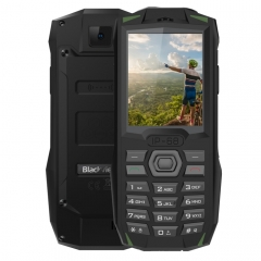 [HK Stock] Blackview BV1000 Rugged Phone, IP68 Waterproof Dustproof Shockproof, 3000mAh Battery, 2.4 inch, FM, Bluetooth, Network: 2G, Dual SIM (Green)