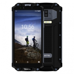 [HK Stock] OUKITEL WP2 Rugged Phone, 4GB+64GB, IP68 Waterproof Shockproof Dustproof, Dual Back Cameras, Side-mounted Fingerprint Identification, 10000mAh Battery, 6.0 inch Android 8.0 MTK6750T Octa Co