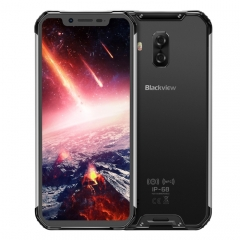 [HK Stock] Blackview BV9600 Pro, 6GB+128GB, IP68/IP69K Waterproof Dustproof Shockproof, Dual Back Cameras, 5580mAh Battery, Face ID & Side-mounted Fingerprint Identification, 6.21 inch Android 8.1 Hel