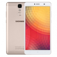 [RU Stock] DOOGEE Y6 Max 3D, 3GB+32GB, Fingerprint Identification, 6.5 inch 2.5D Android 6.0 MTK6750 64-Bit Octa core, Network: 4G, BT, OTA, WiFi, GPS, FM, Dual SIM(Gold)