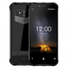 [HK Stock] OUKITEL WP1 Rugged Phone, 4GB+64GB, IP68 Waterproof Shockproof Dustproof, Dual Back Cameras, Fingerprint Identification, 5000mAh Battery, 5.5 inch Android 8.1 MTK6763 Octa Core up to 2.0GHz
