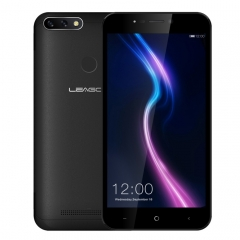 [HK Stock] LEAGOO POWER 2 Pro, 2GB+16GB, Dual Back Cameras, 4000mAh Battery, Face ID & Fingerprint Identification, 5.2 inch Android 8.1 MTK6739V/WA Quad Core, Network: 4G, Dual SIM(Black)