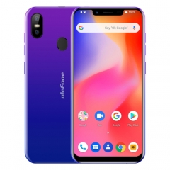 [HK Stock] Ulefone S10 Pro,  2GB+16GB, Dual Back Cameras, Face ID & Fingerprint Identification, 5.7 inch Android 8.1 MTK6739WA Quad-core 64-bit up to 1.3GHz, Network: 4G, OTG, Dual SIM(Twilight)