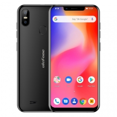 [HK Stock] Ulefone S10 Pro,  2GB+16GB, Dual Back Cameras, Face ID & Fingerprint Identification, 5.7 inch Android 8.1 MTK6739WA Quad-core 64-bit up to 1.3GHz, Network: 4G, OTG, Dual SIM(Black)
