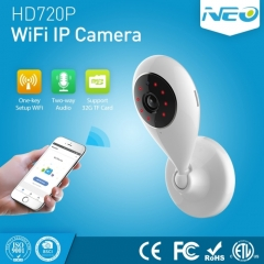 NEO NIP-55AI Indoor WiFi IP Camera, with IR Night Vision & Multi-angle Monitor & Mobile Phone Remote Control
