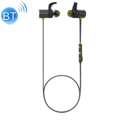 PLEXTONE BX343 Bluetooth Headphone Neckband Sport IPX5 Waterproof Wireless Magnetic Earbuds with Mic(Yellow)