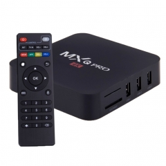 MXQ PRO 1080P 4K HD Smart TV BOX with Remote Controller, Android 5.1 S905 Quad Core Cortex-A53 2GHz, RAM: 1GB, ROM: 8GB, Support WiFi