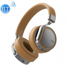 PLEXTONE BT270 Bluetooth Headphones with 8GB MP3 Player Headset Over-ear Wireless Handsfree Earphone(Gold)