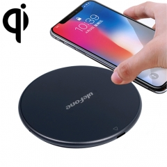 [HK Stock] Ulefone UF002 Round 10W Fast Charging Qi Wireless Charger Pad, For iPhone, Galaxy, Huawei, Xiaomi, LG, HTC and Other Smart Phones(Black)