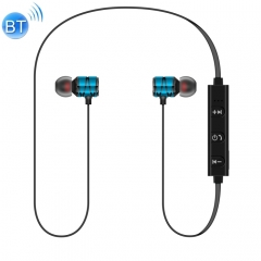 Cagabi SE100 Sports Waterproof Magnetic Earbuds Wireless Bluetooth V4.2 Stereo Headset with Mic(Blue)