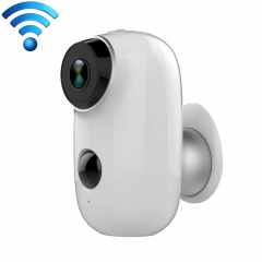 A3 WiFi Wireless IP65 Waterproof 720P IP Camera, Support Night Vision / Motion Detection / PIR Motion Sensor, Two-way Audio, Built-in 6000mAh Rechargeable Battery