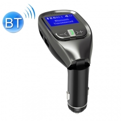 G11 Dual USB Charging Smart Bluetooth FM Transmitter MP3 Music Player Car Kit, Support Hands-Free Call  & TF Card & U Disk(Max 32GB)