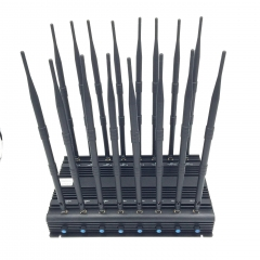 Adjustable High Powerful 16 Antennas All Bands Signal Blocker, Coverage: 70 meters